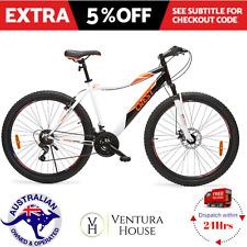 "Mountain Bike 21 Speed Bicycle Mens Suspension Disc Break New MTB 27.5"" Road Man"