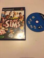 ❤️ Jeu Playstation 2 Ps2  pal fr les sims 1 avec notice jeu de vie