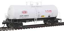 HO Scale 40' UTLX Funnel-Flow Tank Car - DuPont #80023 - Walthers #920-100119
