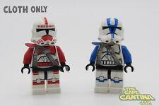 LEGO Star Wars Minifigure Lot of 2 Clone 501st/Shock Trooper Custom Belt Cloth