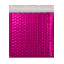 Good Quality Metallic Matt Bubble PINK Envelopes Bags Fast & Free Postage