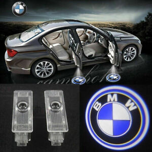 2X Door Ghost Shadow Projector LED BMW Logo Light For BMW 3 5/7 Series X3 X5 X6