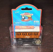 ANNIE & CLARABEL,  Vintage wooden Thomas train from 1990s,  BROWN-LABEL box