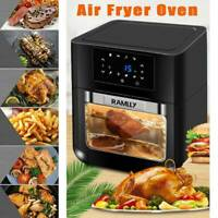 14QT 1700W Air Fryer Electric Air Cooker Roasting OilLess Oven Touchscreen