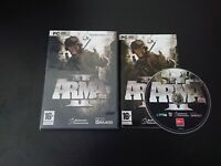 ARMA 2 II OPERATION ARROWHEAD / PC DVD GAME ( WITH MANUAL ) GOOD CONDITION