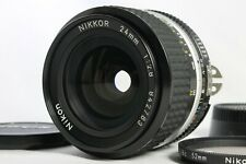 Near Mint Nikon Ai-S Nikkor 24mm f2.8 Manual Lens with Filter from Japan