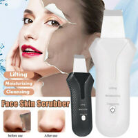 Ultrasonic Ultrasound Facial Skin Care Scrubber Face Salon Beauty Machine