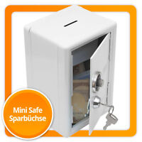"""Spardose """"Mini-Tresor"""" Sparschwein Sparbüchse Safe Geldkassette mit Zahlenschloß"""