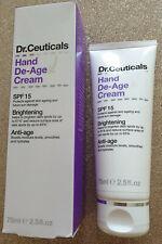 Dr. Ceuticals Hand De-Age Cream 75ml SPF 15 Brightening Anti-age Smooth Hands