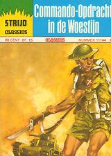 STRIJD CLASSICS 11144 - COMMANDO- OPDRACHT IN DE WOESTIJN (1976)