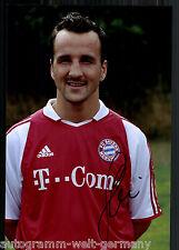 Jens Jeremies Super Großfoto 20x30 cm Bayern München Orig.Sign.+01