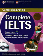 Cambridge COMPLETE IELTS Bands 6.5-7.5 STUDENT BOOK w Answers+CD-ROM+Class CDs