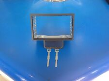 """KENWOOD DOUBLE DIN CAGE CAN SLEEVE W TRIM RING & REMOVAL KEYS FITS 7"""" DVD MODELS"""