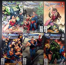 DC Universe On Line Legends (2011) 1-14 complete run of 14 comics no gaps