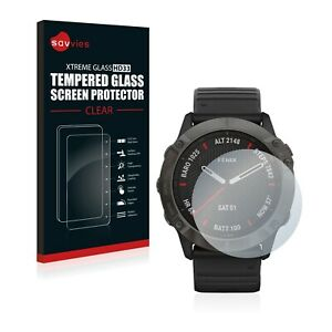 Tempered Glass Screen Protector for Garmin Fenix 6X Pro Solar Protection 9H