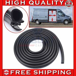 SIDE SLIDING DOOR WEATHERSTRIP RUBBER SEAL FOR VAUXHALL MOVANO RENAULT MASTER