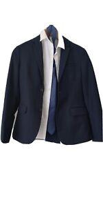 Anzug blau, 158 cm, Kommunion, Konfirmation