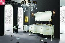 Doppelwaschtisch Designer Waschtisch Luxus Marmorplatte Waschtische badmöbel NEW