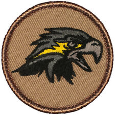 Cool Boy Scout Patrol Patch! - #585 The Black Hawk Patrol!