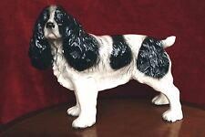 X Large Vintage Melba Ware  Spaniel dog Porcelain figurine