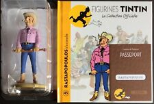 TINTIN Rastapopoulos cravache Collection officielle figurine n°45 Comme neuf