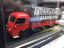 PANHARD Movic Anterist & Schneider Saarbrücken rot 014 LKW Camion SP IXO 1:43