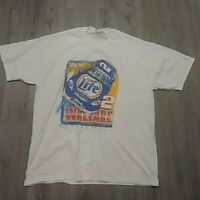 vtg Competitors View RUSTY WALLACE No. 2 MILLER LITE  (XL) T-Shirt