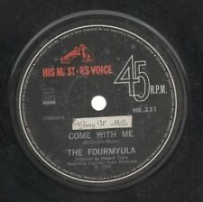 """THE FOURMYULA   Rare 1968 New Zealand Only 7"""" OOP Psych Single """"Come With Me"""""""