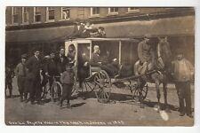 Real Photo Postcard Gen. Lafayette's Buggy from 1825 in Jordan, New York