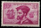 1 Jacques CARTIER, Période Rose, Neuf ** = Cote 110 € / Lot Timbre France n°296