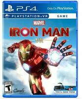 Marvel's Iron Man VR for PlayStation 4PS4, Playstation VR Brand New Sealed