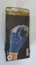 12 Paar Ansell HyFlex 11-925 Schutzhandschuhe mit Nitrilbeschichtung Große 9