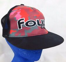 Four Loko Black Trucker Baseball Cap Hat  Red Camo Black Cherry Box Shipped