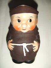 "Vintage Novelty Goebel Monk 5"" Character Jug / Pitcher S141/1"