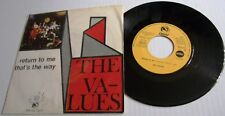 THE VALUES RETURN TO MEc/wTHAT'S THE WAY SPANISH FIDIAS LABEL PICTURE COVER 1968