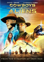 Cowboys and Aliens DVD NEW