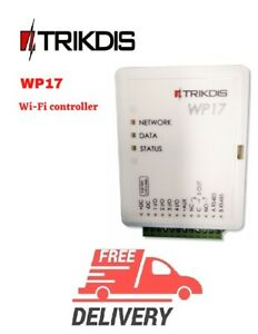 TRIKDIS Wi-Fi controller WP17 Up to 990 users