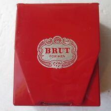 Vintage Rare Brut For Men Red Leather Fabrege Set - Lotion & After Shave Balm