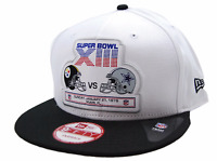 Pittsburgh Steelers vs Dallas Cowboys New Era NFL Logo Super bowl XIII Cap Hat