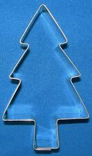 TALA STAINLESS STEEL 8.5cm CHRISTMAS TREE BISCUIT PASTRY CAKE COOKIE CAKE CUTTER