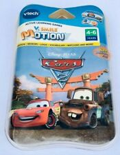 V Tech Cars 2  80-084580 V SMILE Motion  Cartridge ACTIVE LEARNING GAMES