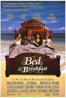 BED & BREAKFAST MOVIE POSTER Original 1991 Folded 27x41 ROGER MOORE TALIA SHIRE