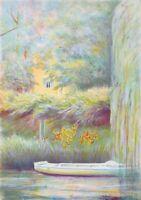 Rolf RAFFLEWSKI : Jardins de Giverny (1) - LITHOGRAPHIE originale signée, EA