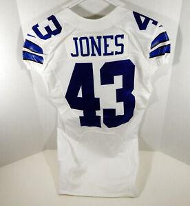 2013 Dallas Cowboys Joseph Jones #43 Game Issued White Jersey