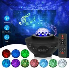 Led Galaxy Star Projector Night Light with Bluetooth Speaker & Remote Control