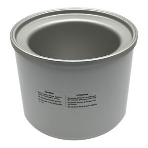 Krups 337 Ice Cream Maker Freezer Bowl Replacement Part PG-6180 CIM-20 ICE-20