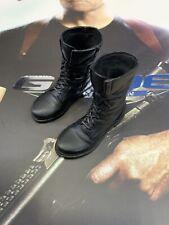 Hot Toys MMS206 G.I. Joe Colton Bruce Willis Figure 1/6 boots