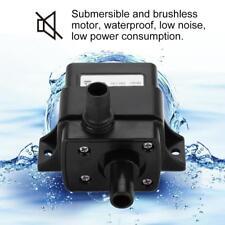 Ultra Quiet DC 12V 3m 240L/H Brushless Motor Submersible Pool Water Pump Mini
