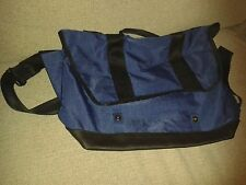 GAP Shoulder Bag en blue colour with black and grey fonctionnalités [RRP £ 24.95]