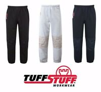 TuffStuff Comfort Work Pants Mens Workwear Trousers Joggers Jogging Bottoms UK